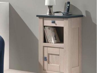 Ateliers De Langres - meuble téléphone whitney - Tavolino Per Telefono