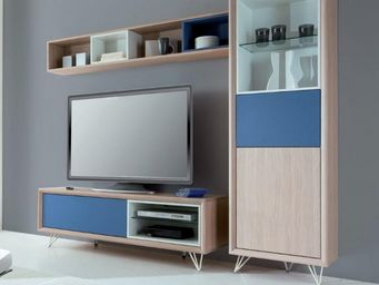 Ateliers De Langres - meuble tv tentation - Mobile Tv & Hifi