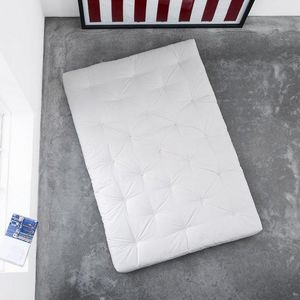 WHITE LABEL - matelas futon confort 90*200*15cm - Futon