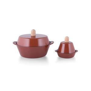 GRILO KITCHENWARE - casserole 26 & cocotte 14 - Casseruola
