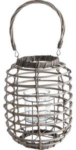 Aubry-Gaspard - lanterne en osier - Lanterna Da Esterno