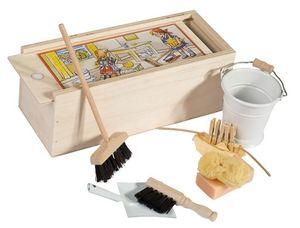 Redecker - set de ménage maison de poupée - Casa Delle Bambole