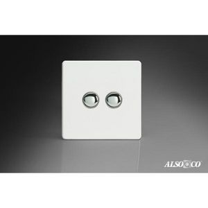 ALSO & CO - double momentary switch - Interruttore Doppio