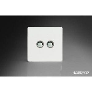 ALSO & CO - double momentary switch - Interruttore Doppio