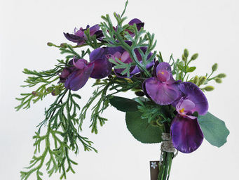 NestyHome - chute orchidée violine - Fiore Artificiale