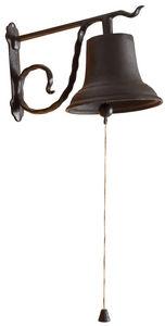 Aubry-Gaspard - cloche de jardin en fonte - Campanella Da Esterno
