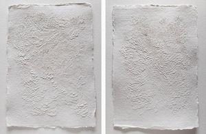 LAUREN COLLIN - '.papier sculpté - Quadro Contemporaneo