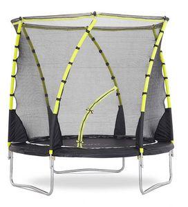 Plum - trampoline avec filet innovant 3g whirlwind - Trampolino Elastico