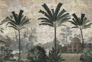 Ananbô - pushkar grisaille - Carta Da Parati Panoramica