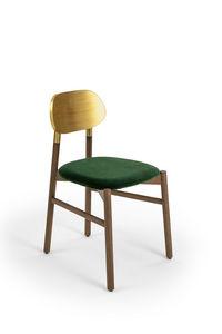 COLE - bokken upholstered - Sedia