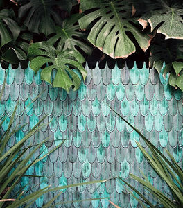 CARRÉMENT VICTOIRE - plumage - Piastrella A Mosaico