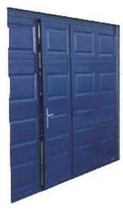 Y.Lagache - avec portillon - Porta Garage Pieghevole