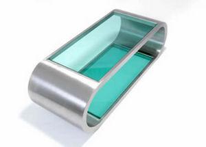 Curvation -  - Tavolino Soggiorno Con Ripiano