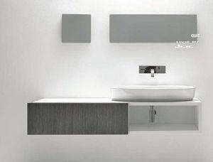 Maniglia / pomello per mobile da bagno