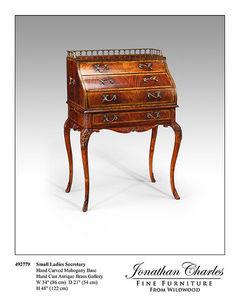 Jonathan Charles Fine Furniture -  - Scrittoio A Ribalta Dos D'âne