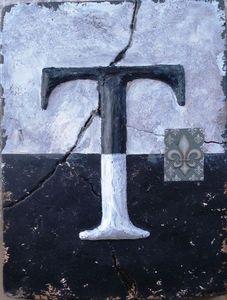 Nostalgia Blocks -  - Lettera Decorativa