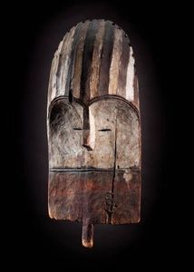 Galerie Pierre Dartevelle - masque, mbole - Maschera Africana