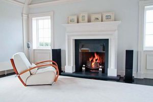 After The Antique - bespoke plain bolection fireplace - Camino Con Focolare Aperto