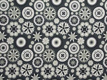 Equipo DRT - royal negro - Tessuto Stampato