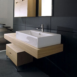 Bathroom Trading Company - modula 'box 80' washbasin - Lavabo D'appoggio