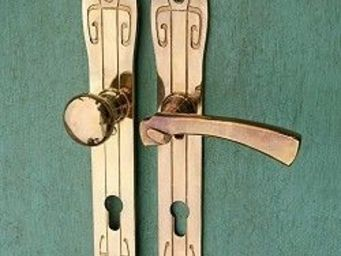 Replicata - haustürgarnitur jugendstil - Maniglia Porta