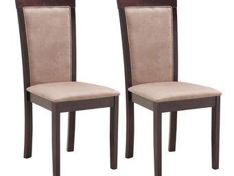 Miliboo - judy lot deux chaises chêne - Sedia