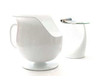 Miliboo - cup fauteuil - Poltrona