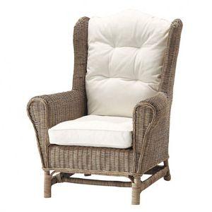 MAISONS DU MONDE - fauteuil en rotin hampto - Poltrona Da Giardino