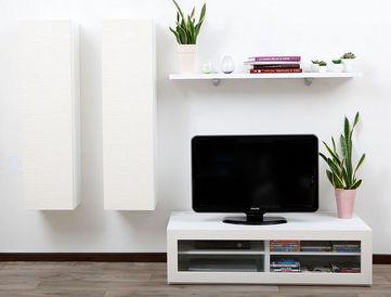 Miliboo Mobili Tv.Symbiosis Compo 11 Structure Blanche Mobile Tv Hifi