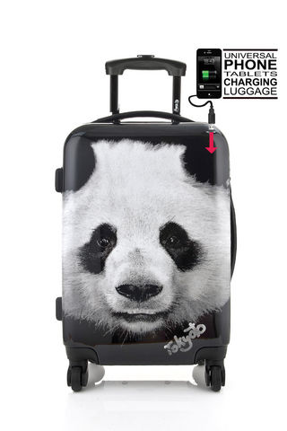 TOKYOTO LUGGAGE - Trolley / Valigia con ruote-TOKYOTO LUGGAGE-PANDA