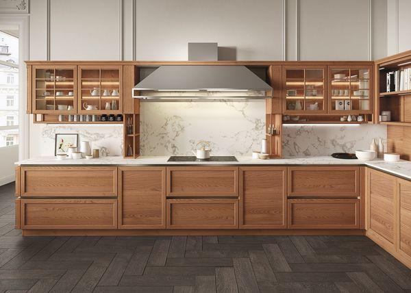 Héritage - Cucina componibile / attrezzata - Naturale - Snaidero