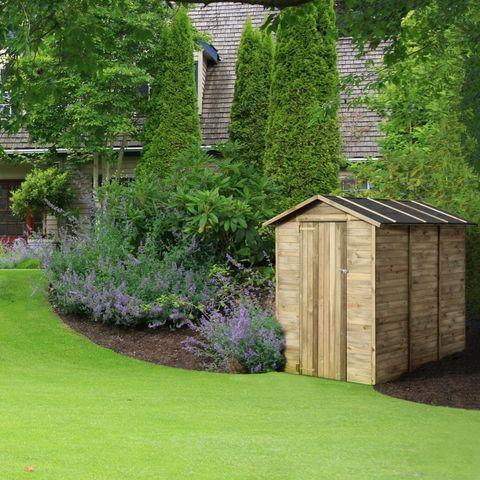CEMONJARDIN - Casetta da giardino-CEMONJARDIN-Abri de rangement en bois Anaïs 2.82 m²