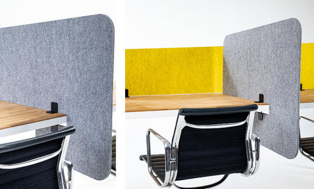 BUZZISPACE - Pannello divisorio ufficio-BUZZISPACE-Desk Split